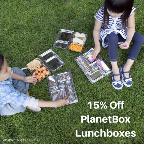 15% off ALL LUNCHBOXES!
