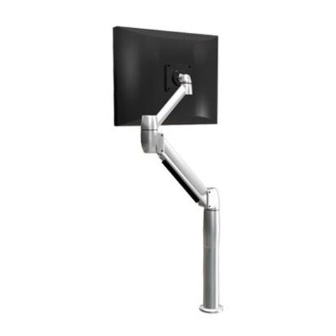 SpaceCo SS01QC-CL-PLT Single Monitor Sit Stand Arm
