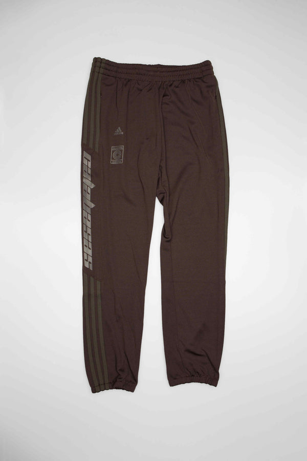 CALABASAS MENS TRACK PANTS - GREY/OLIVE