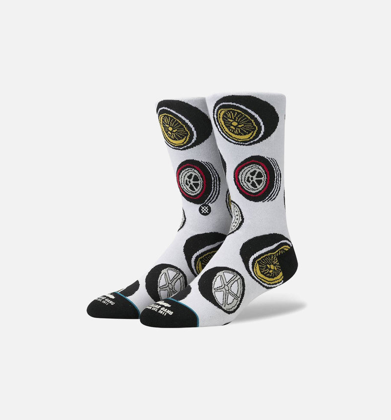Stance Stalley Wheels Socks (Mens) - Blue