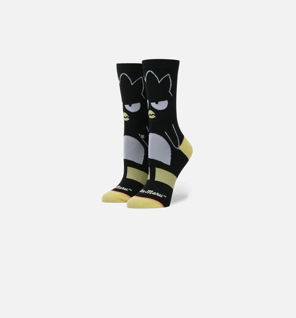 STANCE X SANRIO COLLECTION BADTZ-MARU SOCKS WOMEN'S - BLACK/YELLOW/WHITE