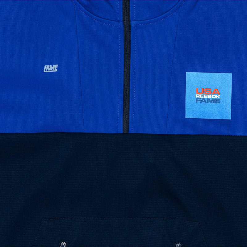 REEBOK X HALL OF FAME CAPSULE COLLECTION JACKET MEN'S - ROYAL BLUE