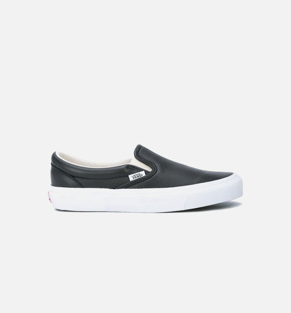 OG CLASSIC SLIP ON LX MENS SHOE - BLACK LEATHER/WHITE