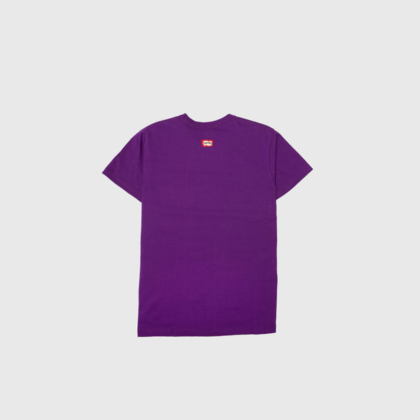 DECENZO MENS SHORT SLEEVE T-SHIRT - PURPLE