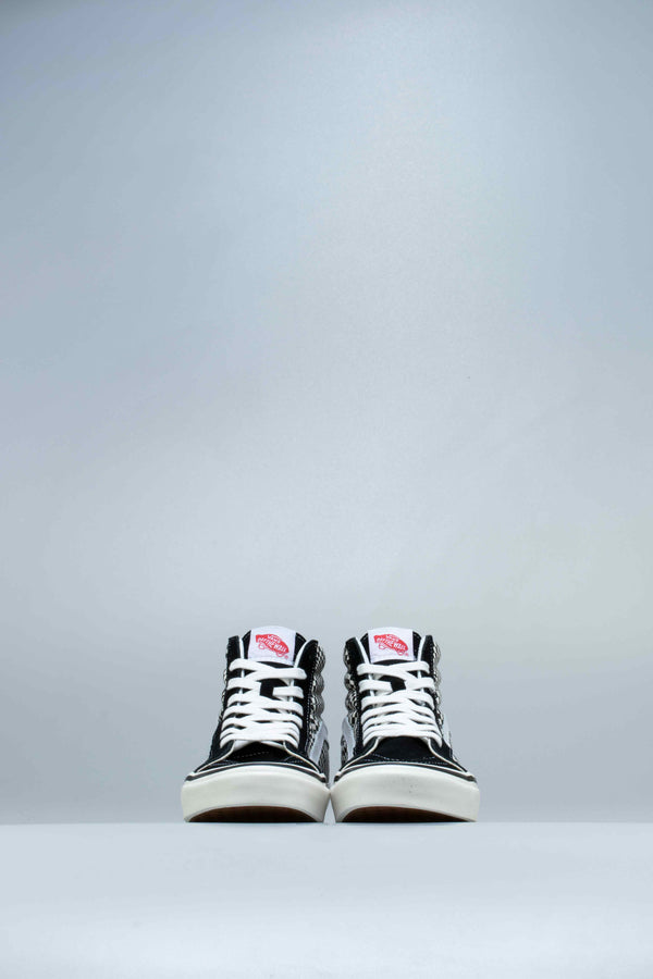 ANAHEIM FACTORY SK8 HI 38 DX MENS SHOE - BLACK/WHITE