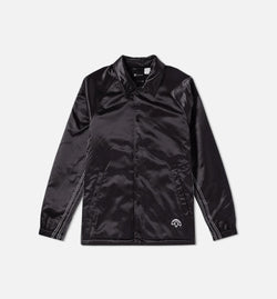 ALEXANDER WANG x ADIDAS COLLECTION AW COACH MENS JACKET -  BLACK/BLACK