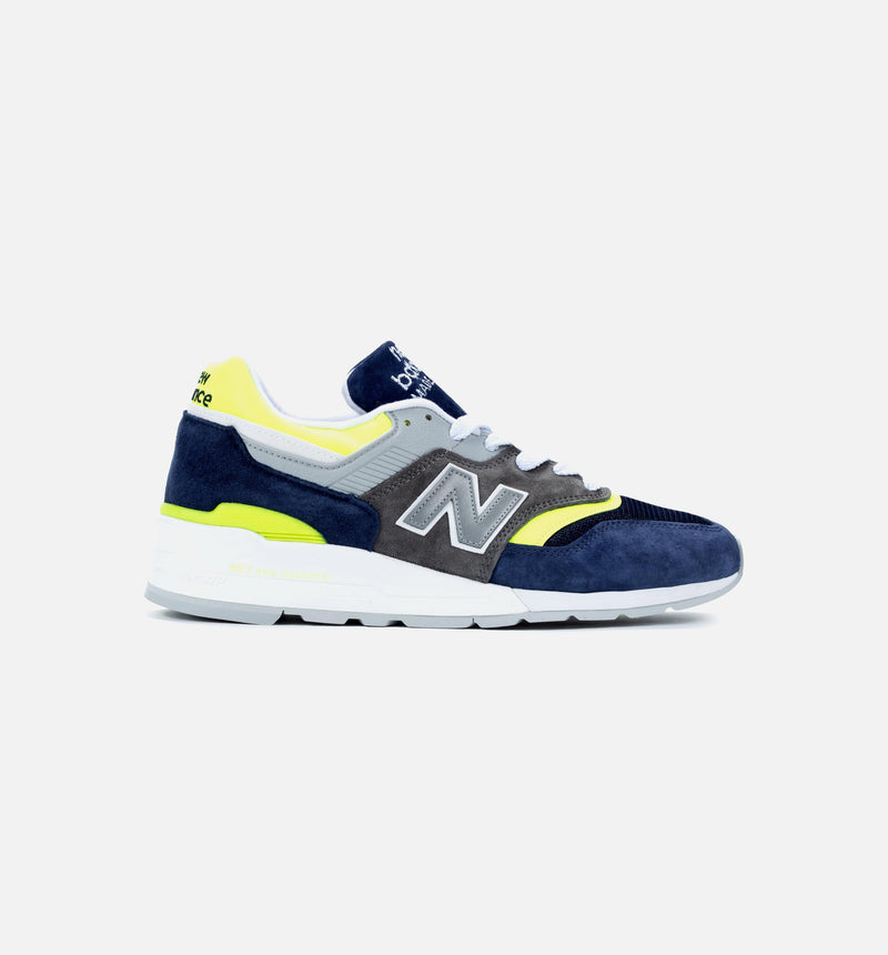 997 USA MADE IN USA MENS SHOES - BLUE/YELLOW