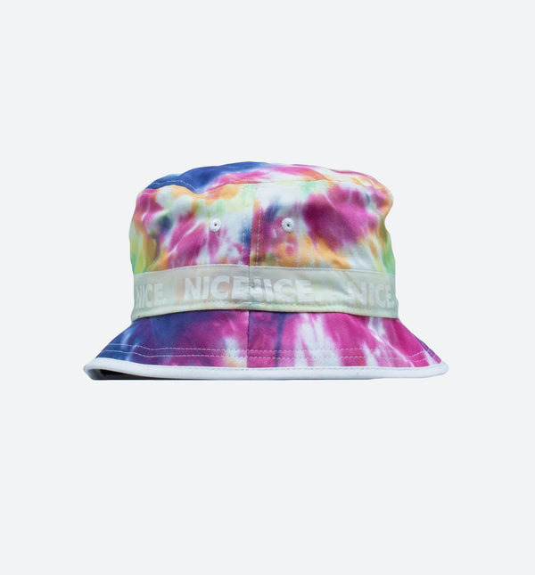 NICE KICKS X NEW ERA MENS BUCKET HAT (TIE DYE)
