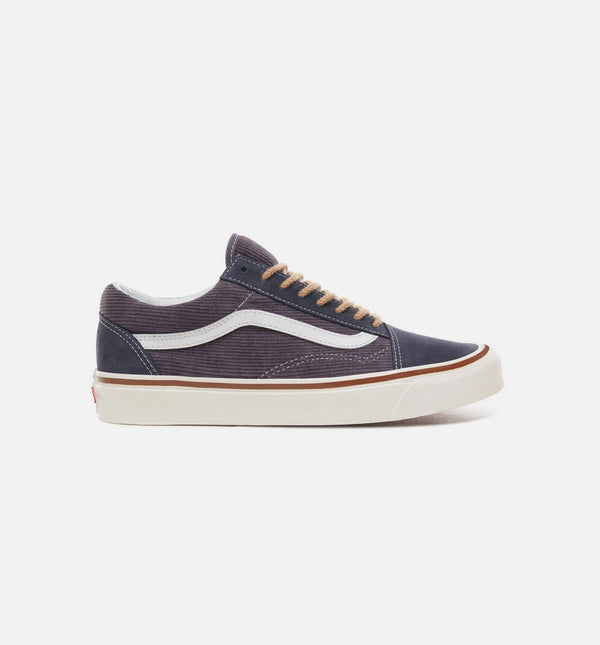ANAHEIM FACTORY OLD SKOOL 36 DX MENS SHOE - OG NAVY/SUEDE/CORDUROY