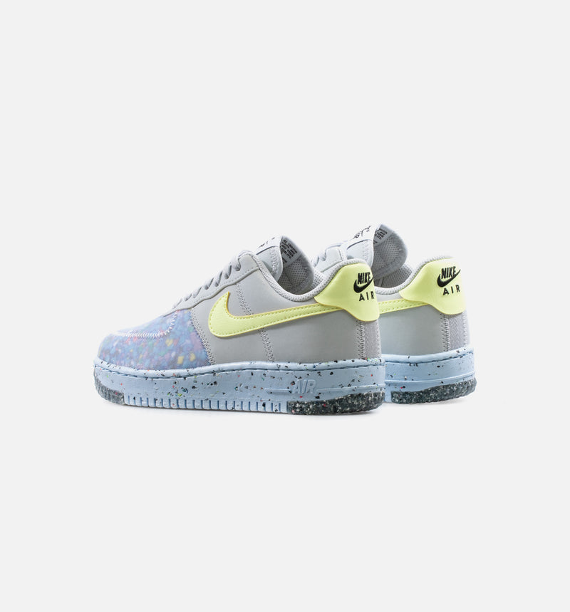 AIR FORCE 1 CRATER SPACE HIPPIE WOMENS LIFESTYLE SHOE - VOLT/BLUE/GREY