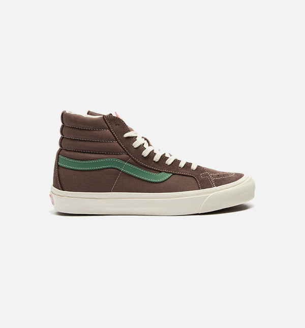 OG SK8 HI LX MENS SHOE - BROWN/GREEN