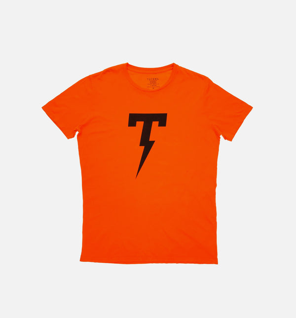 TACKMA THUNDER T TEE MEN'S - ORANGE