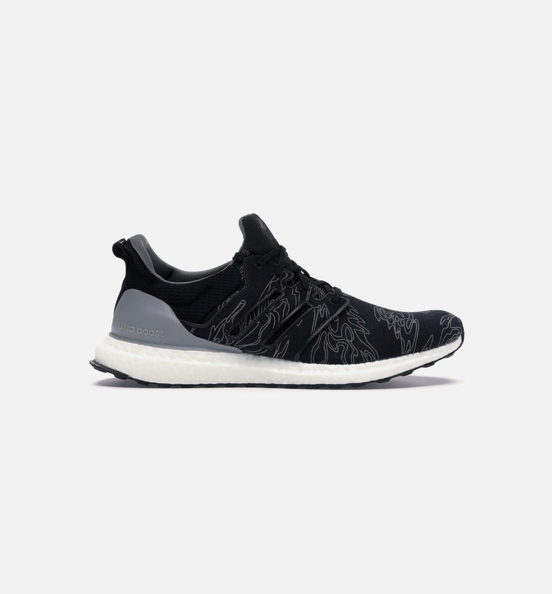 ADIDAS X UNDEFEATED ULTRABOOST MENS SHOES - CORE BLACK/CORE BLACK