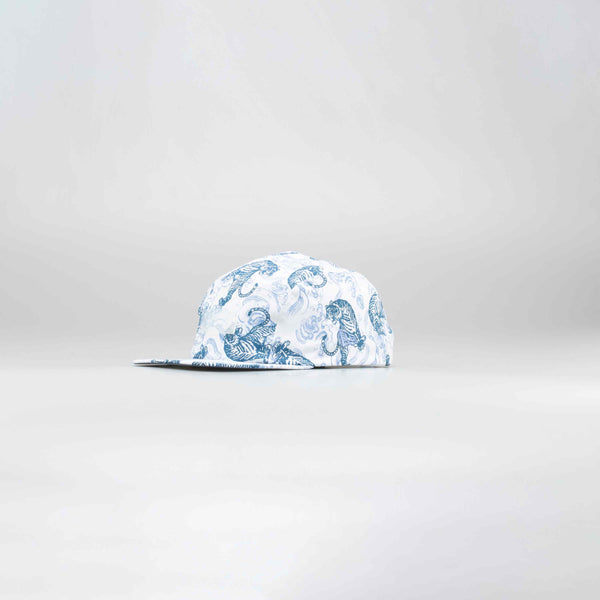 NICE KICKS LIFE TIGER HAT - WHITE/BLUE