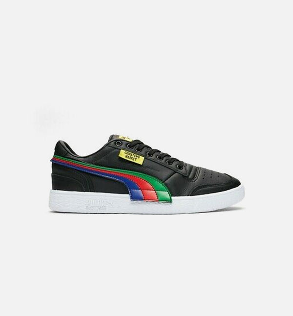 PUMA X CHINATOWN MARKET RALPH SAMPSON LOW MENS RUNNING SHOE -  BLACK