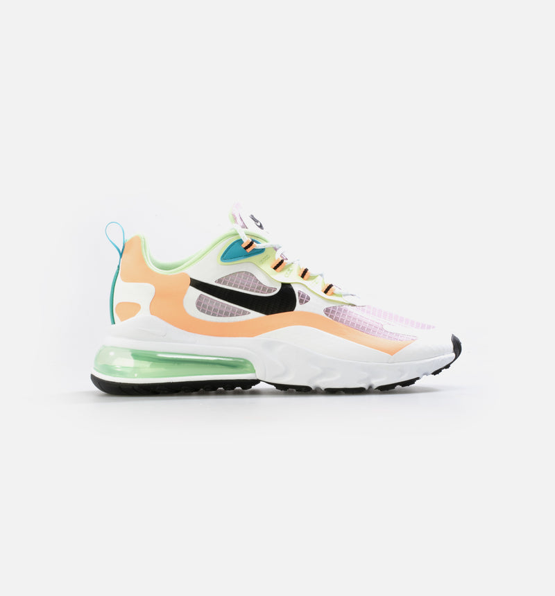 NIKE AIR MAX 270 REACT SE WOMENS LIFESTYLE SHOE - WHITE/PINK/GREEN/BLACK