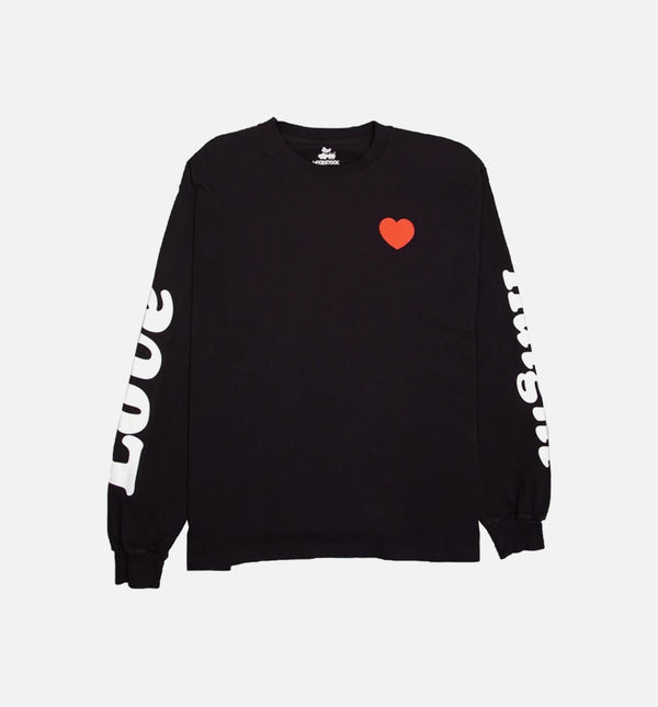NICE KICKS X WOODSTOCK LONG SLEEVE T-SHIRT - BLACK/WHITE