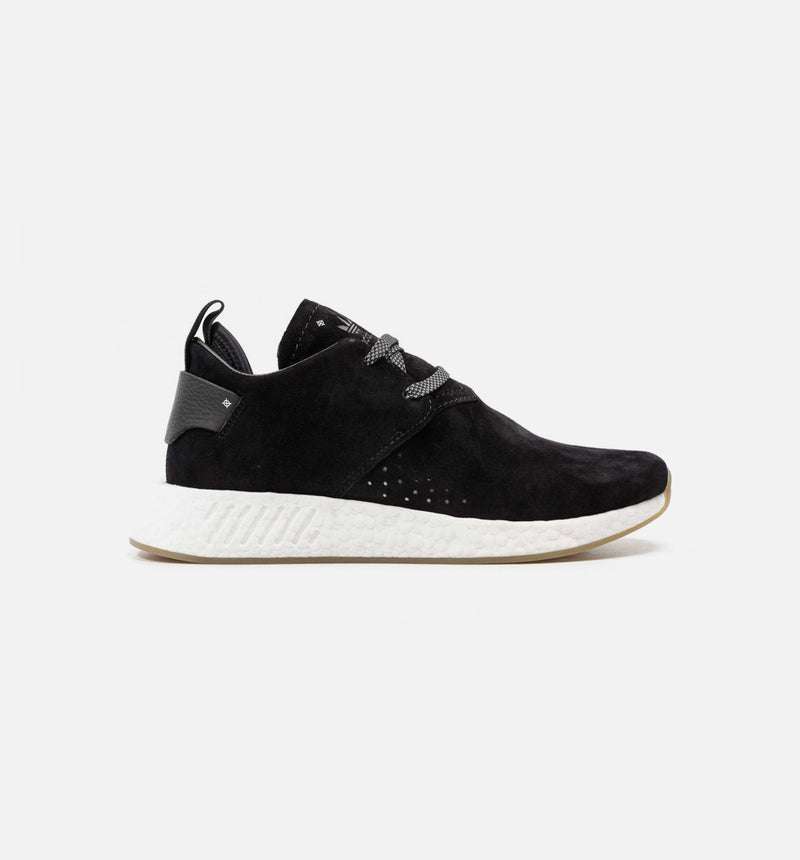 NMD CS2 SUEDE MENS SHOE - BLACK/GUM/WHITE