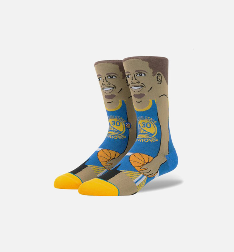 STANCE STEPHEN CURRY SOCKS MEN'S - BLUE