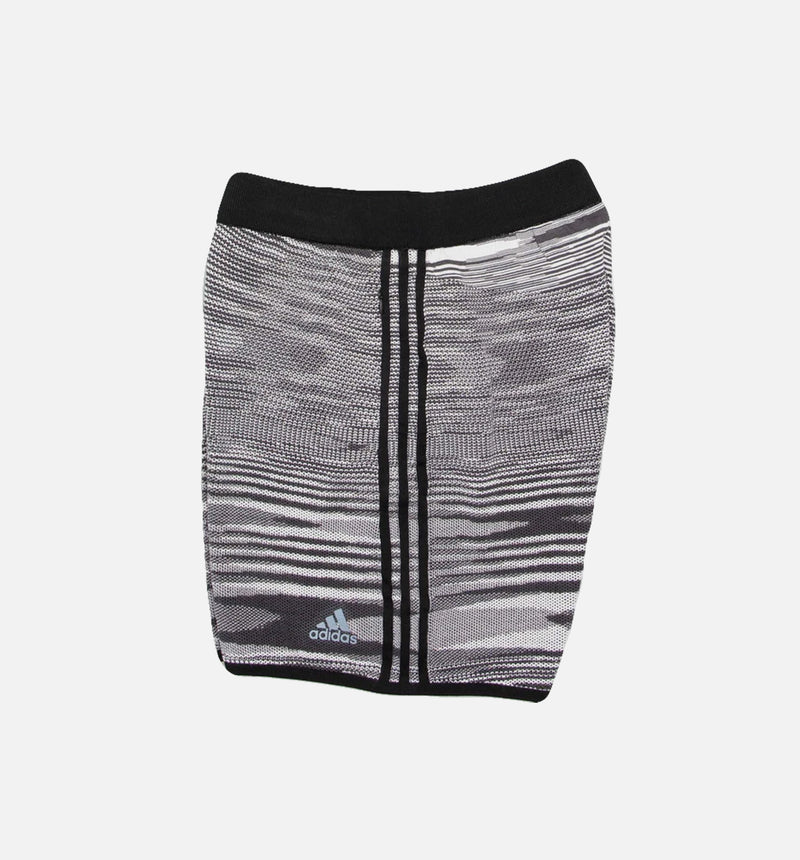 ADIDAS X MISSONI SATURDAY MENS RUNNING SHORTS - BLACK/WHITE/GREY