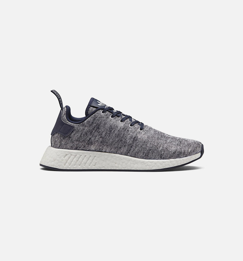 ADIDAS US & SONS NMD R2 MENS SHOE - CORE HEATHER GREY/MATTE SILVER/RUNNING WHITE