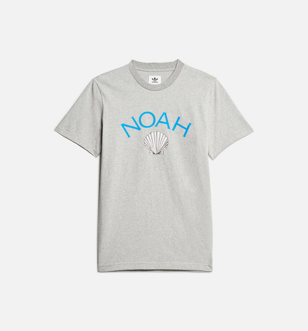 NOAH MENS T-SHIRT - GREY/BLUE/WHITE