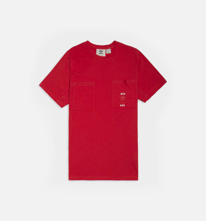 POLO 72 HOUR MENS T-SHIRT - RED/RED