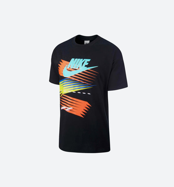 NIKE X NRG ATMOS CU SS T-SHIRT MEN'S - BLACK/MULTI