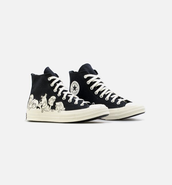 CHUCK TAYLOR 70 HI MYSTERY INC. MENS LIFESTYLE SHOE - BLACK/WHITE