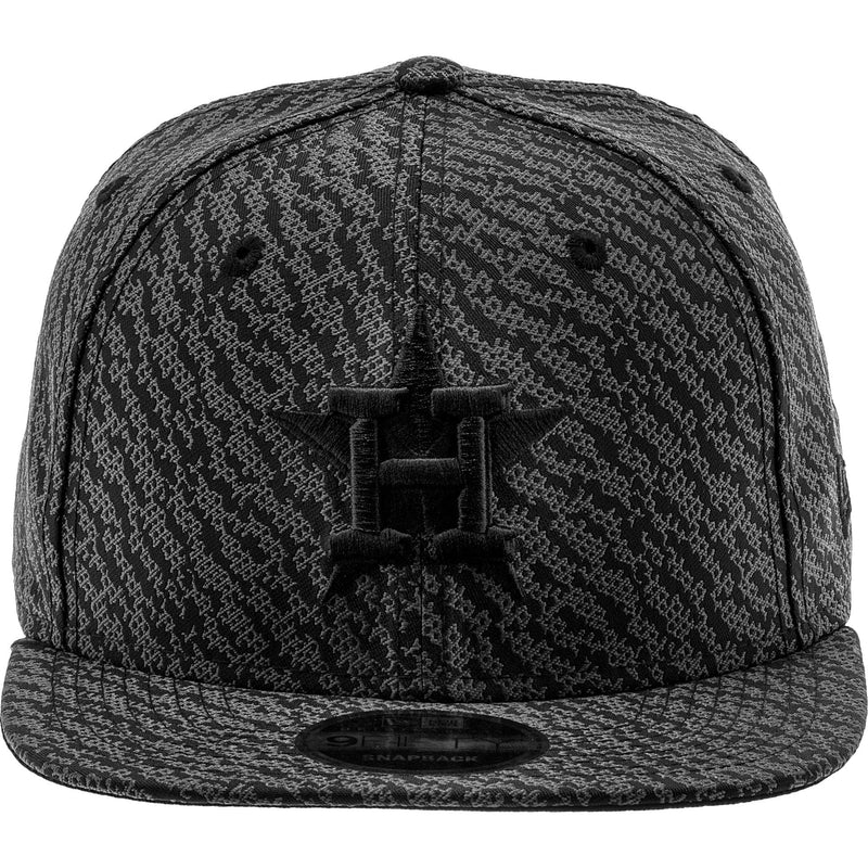 NEW ERA HOUSTON ASTROS MLB SNAPBACK MEN'S - BLACK/GREY