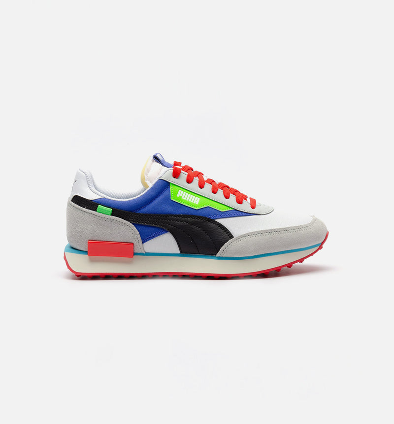 FUTURE RIDER RIDE ON MENS LIFESTYLE SHOE - BLUE/GREY/RED