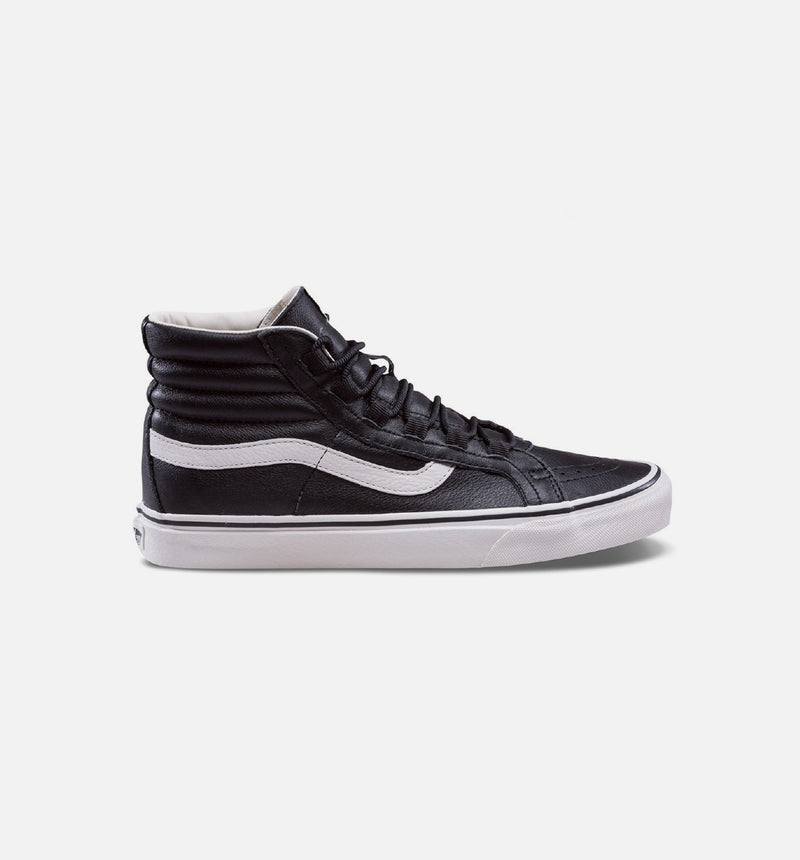 LEATHER SK8 HI REISSUE GHILLIE MENS SHOES - BLACK/MARSHMALLOW