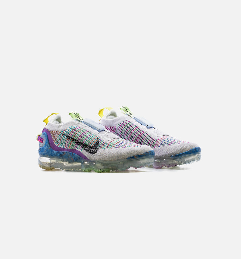 AIR VAPORMAX 2020 FLYKNIT MENS LIFESTYLE SHOE - PLATINUM/MULTI COLOR