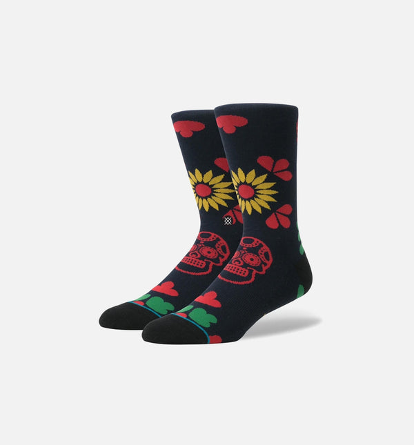 STANCE DIA CLASSIC CREW SOCKS MEN'S - BLACK/RED/GREEN/YELLOW