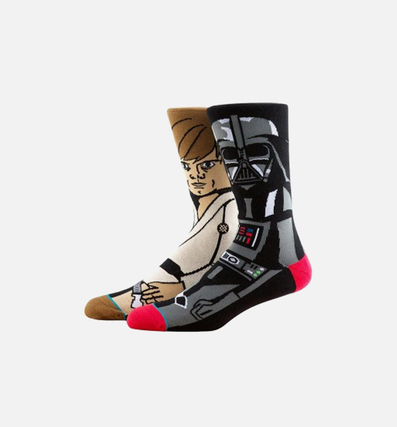 Stance STAR WARS Force Socks (Mens) - Black/Brown