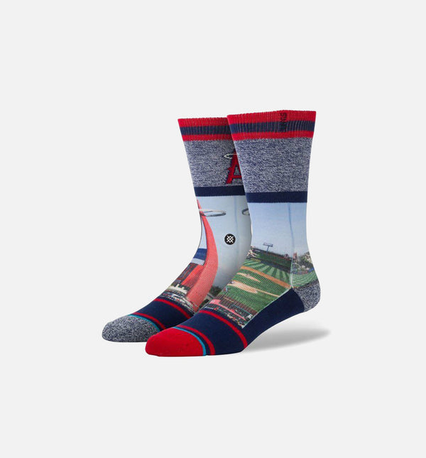 STANCE LOS ANGELES ANGELS SOCKS - Big A Red