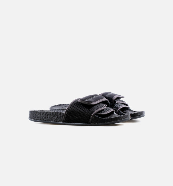 PHARRELL WILLIAMS CHANCLETAS HU MENS SANDAL SLIDES - BLACK