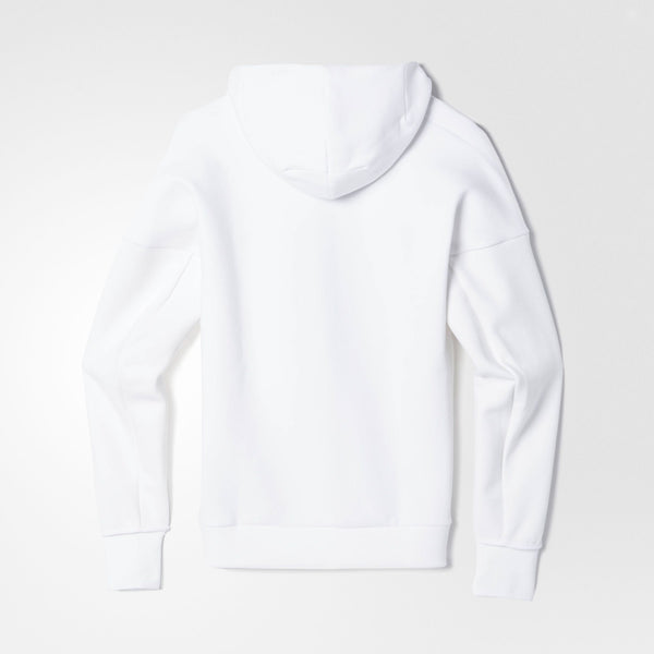 ADIDAS ZNE HOODY MEN'S - WHITE/BLACK