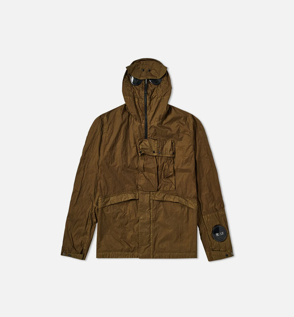 ADIDAS C.P. COMPANY EXPLORER MENS JACKET - DARK CARGO/BLACK