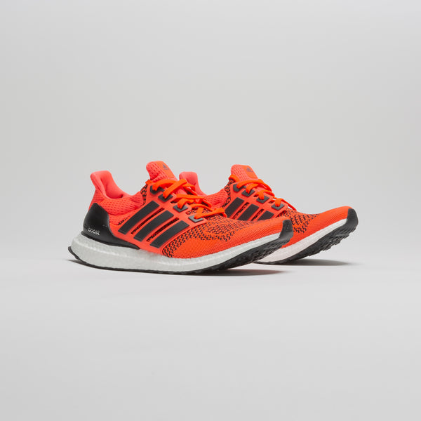 ULTRABOOST 1.0 MENS RUNNING SHOE - ORANGE/WHITE/GREY