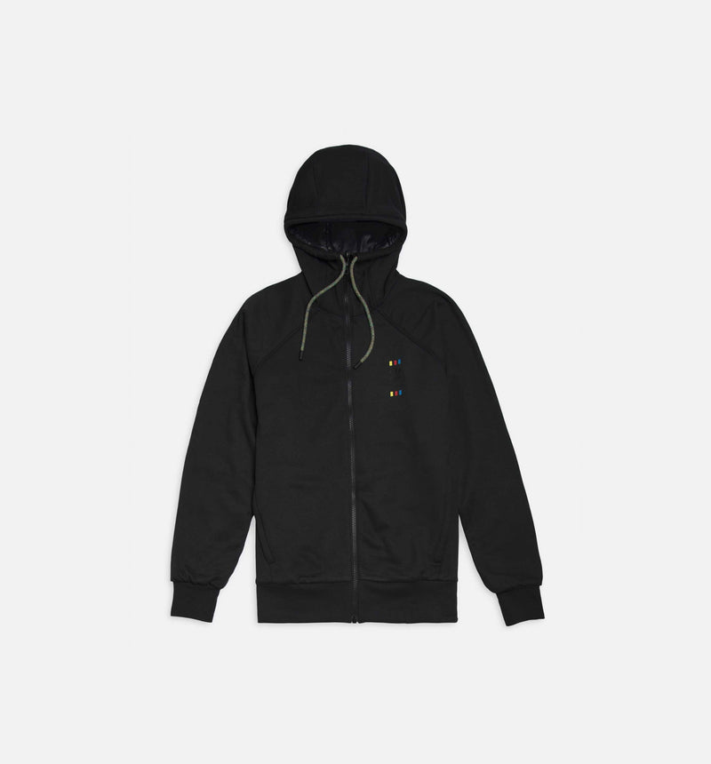 OYSTER HOLDINGS 72 HOUR MENS HOODIE - BLACK/BLACK