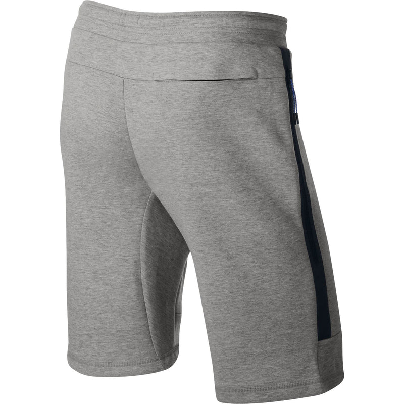 Nike Tech Fleece Shorts (Mens) - Dark Grey Heather/Dark Grey Heather/Black