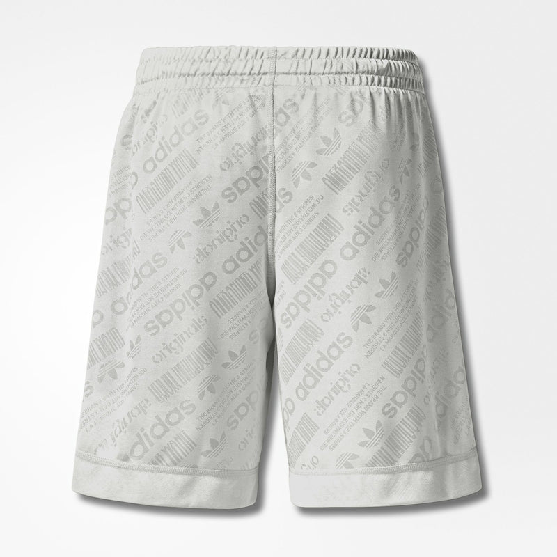 ADIDAS X ALEXANDER WANG SOCCER SHORT MEN'S - CORE WHITE