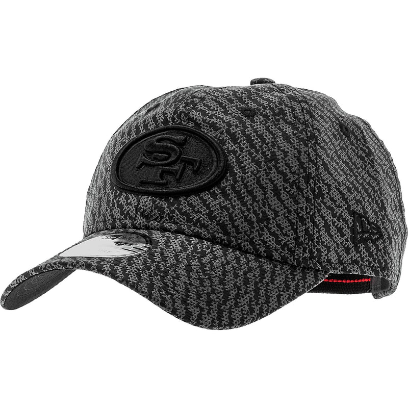 NEW ERA SAN FRANCISCO 49ERS NFL STRAPBACK MEN'S - BLACK/GREY