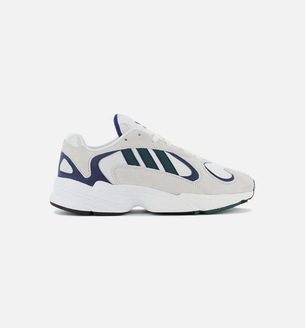 YUNG 1 MENS SHOE - CLOUD WHITE/NOBLE GREEN/BLUE