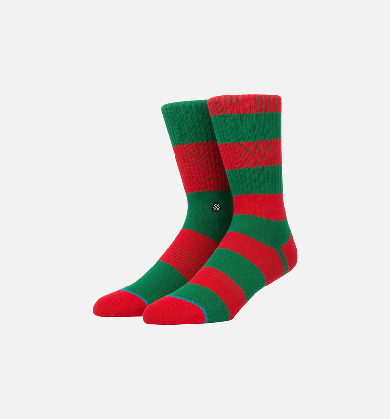 STANCE CADET 2 SOCKS MEN'S - GREEN/RED