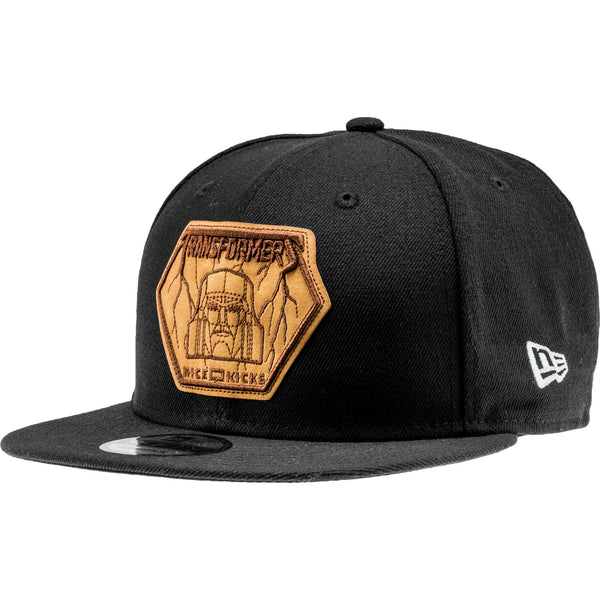 NEW ERA MEGATRON MENS SNAPBACK - BLACK