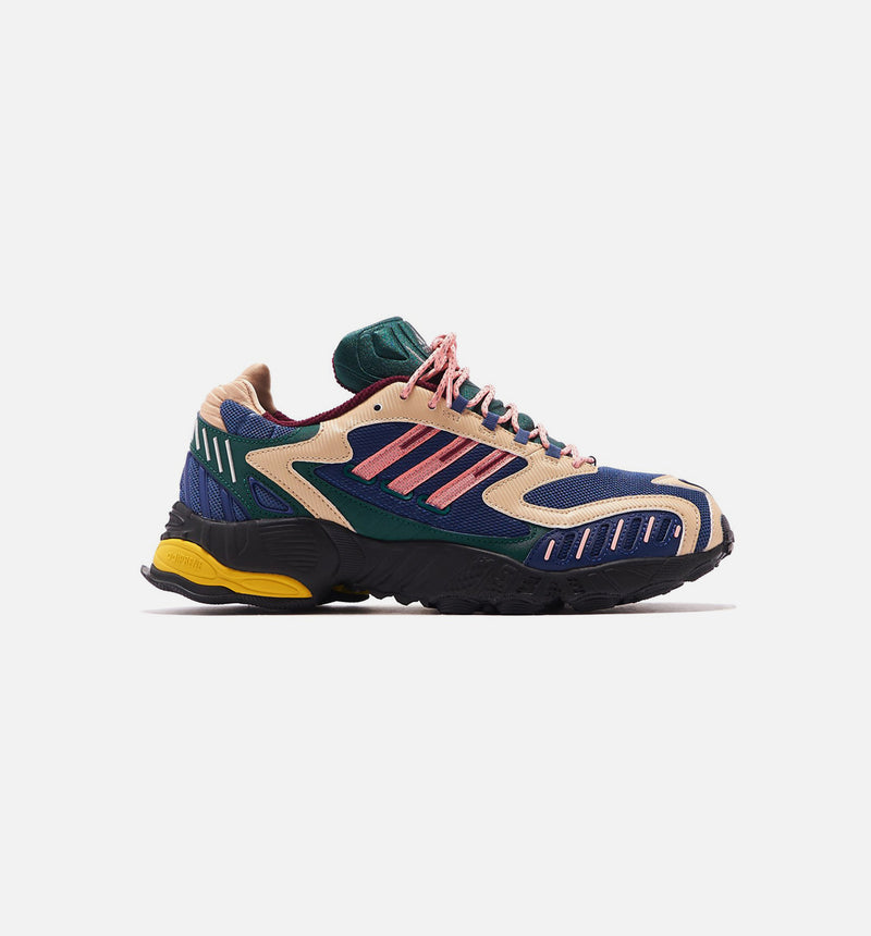 TORSION TRDC MENS RUNNING SHOE - NAVY/GREEN/PINK/YELLOW