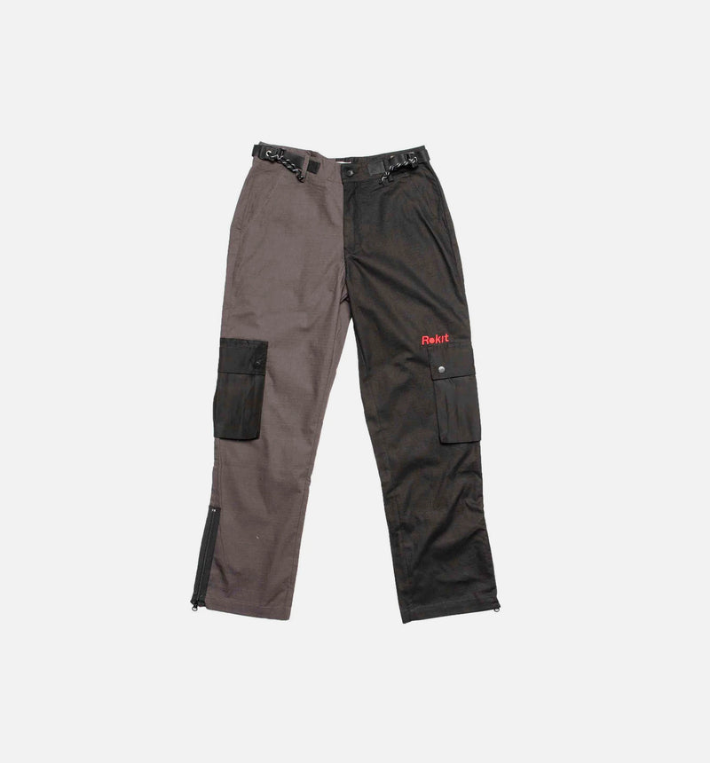 ROKIT LAUNCH 2 TONE MENS PANTS - BLACK