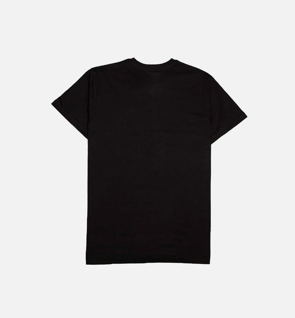 DAIRY FITTED HAT MENS T-SHIRT - BLACK/BLACK
